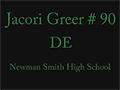 Jacori Greer - Smith (Carrollton, TX)