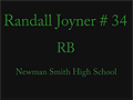 Randall Joyner - Smith (Carrollton, TX)
