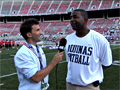 Cris Carter interview - Aquinas, FL Football