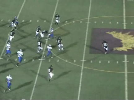 Video clip cover image: Smith, TX - LaDarrell McNeil # 3 FS/RB