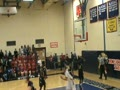 Donte Ali hustle for rebound and drive for 2