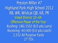 Preston Miller's 2011 Senior Highlight Video