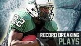 2012 Top Football Plays - Record Breaking