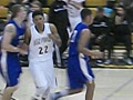 Isaac Stell-Quincy Thomas Alleyoop Dunk Combo!