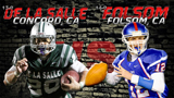 Folsom VS De La Salle - 2012 Regional Bowl Preview