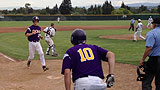 "Amador Valley, CA - ""Mellow"" drills a sac fly"