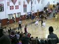 Tavaris Hall Dunks On The Break vs MLK