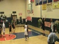 Isaiah Williams strong move to rim vs Cinn