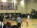 Eli Cain baseline finish vs Manchester