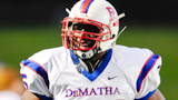 NFL Draft 2014 - Cyrus Kouandjio (DeMatha, MD)